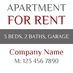 For Lowest Rent